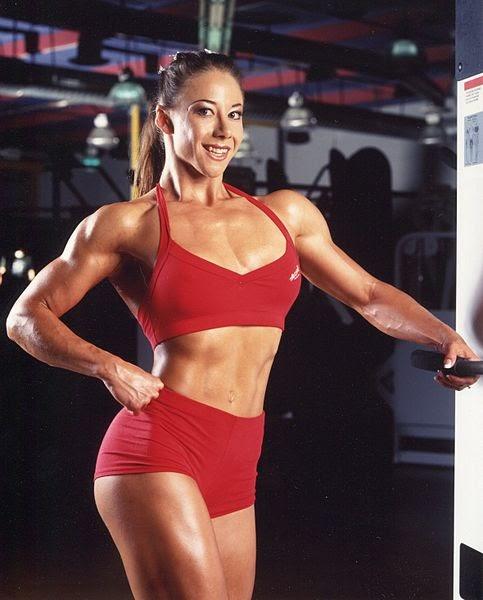 MUSCULAR WOMAN WALLPAPERS JOE Muscular Woman Wallpapers