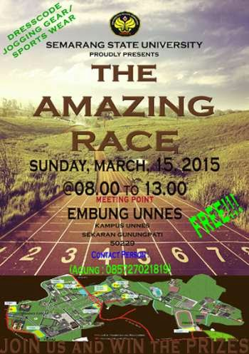 Besok Pagi, The Amazing Race Unnes