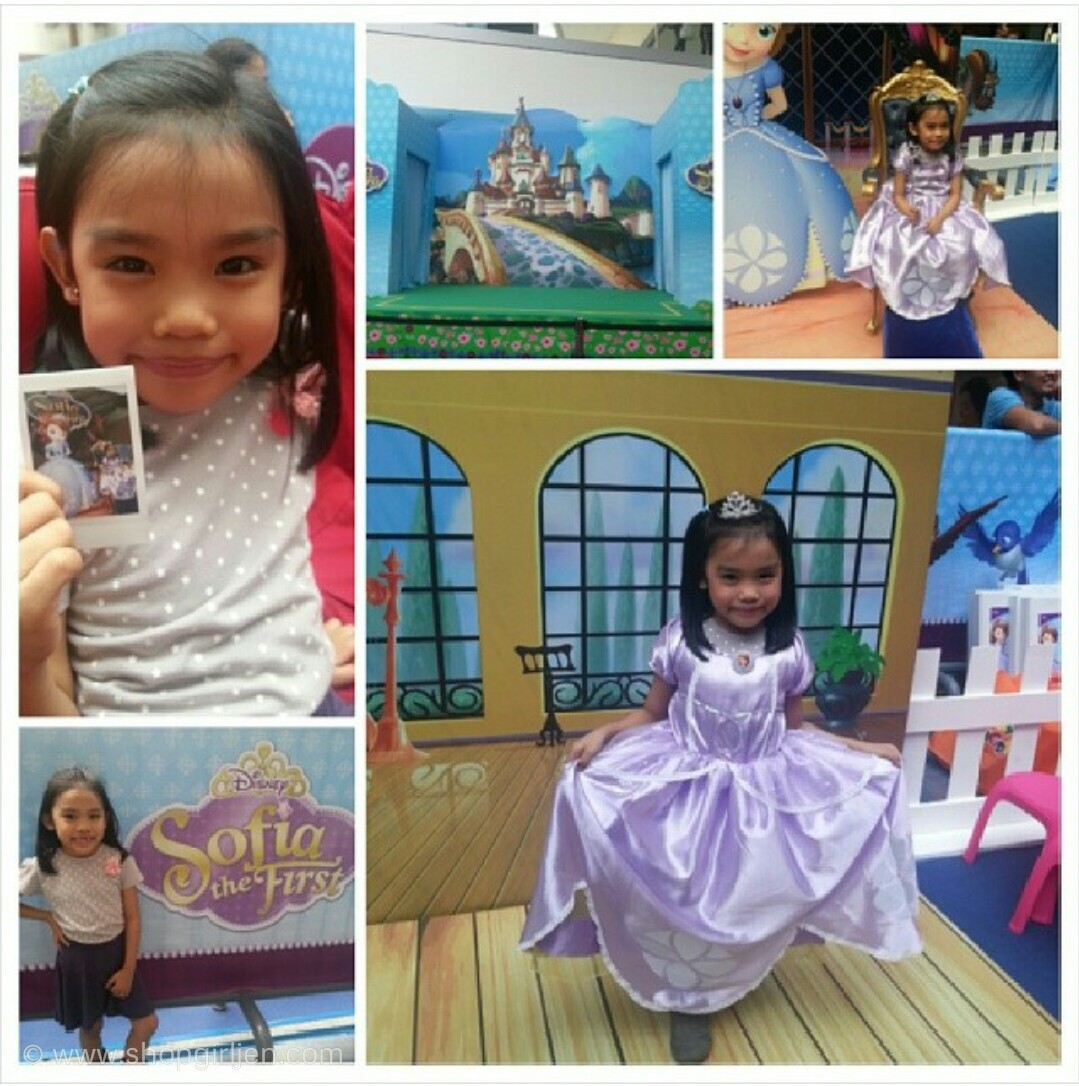 Shopgirl jen heres your chance to meet sofia the first doc and now we cant wait to for another meet and greet and sofia the first even brought friends with her woohoo kristyandbryce Images