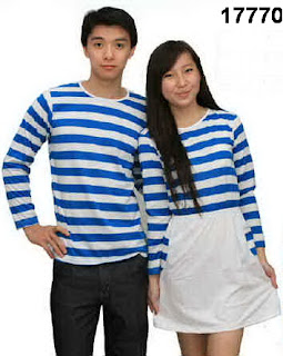 Baju-couple-lengan-panjang-dress