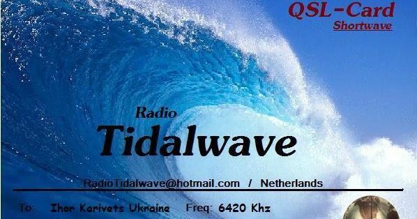 Radio Tidalwave QSL
