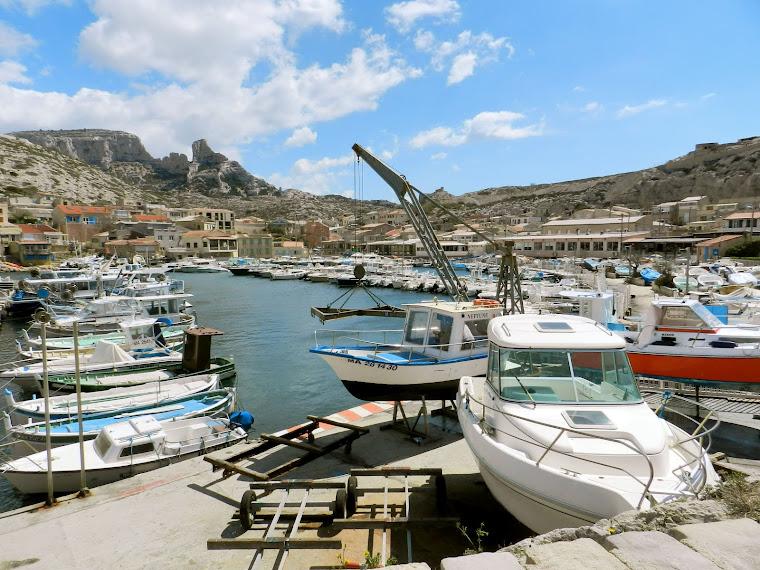 Le port des Goudes. Marseille