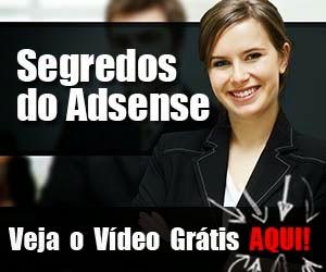 Veja um vídeo grátis sobre o Curso Segredos do Adsense