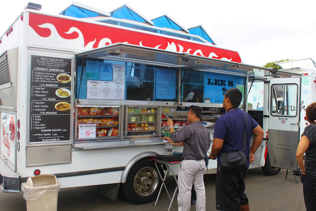 This truck sold Philly cheese stakes  The smell was wonderful and if it  were several years ago  when I ate meat  I think I would have tried the food  from  My little cottage in the making  THE GREAT FOOD TRUCK DEBATE. Costa Mesa Fairgrounds Food Trucks. Home Design Ideas