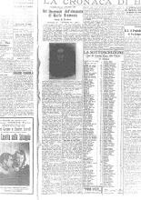 """16 AGOSTO 1932"""" LA VOCE DI BERGAMO"""""""