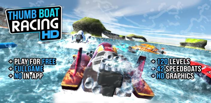 Thumb Boat Racing v1.0.2 Apk MOD