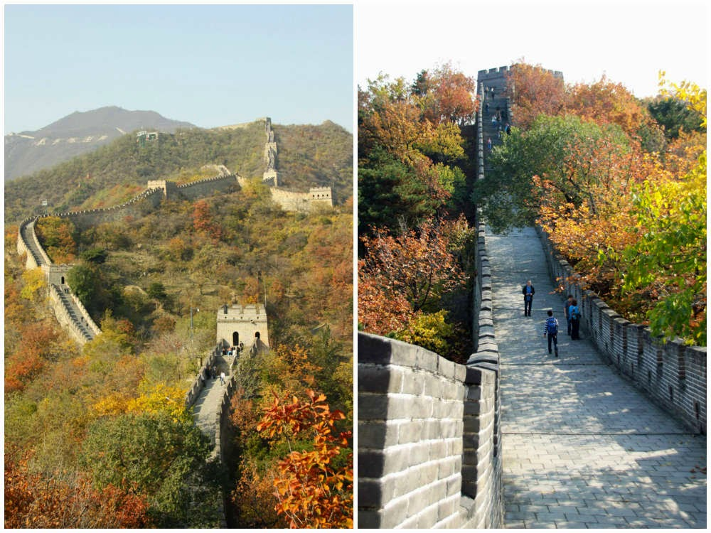 Autum at The Great Wall at Mutianyu