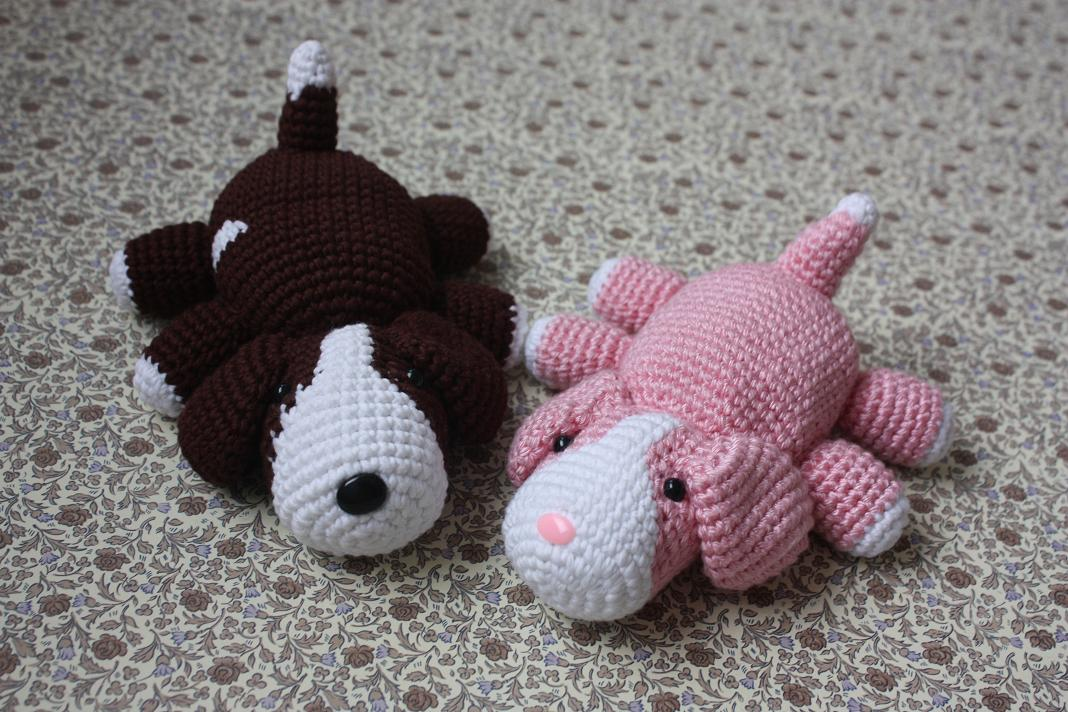 Amigurumi Dog Noses : HAPPYAMIGURUMI: Amigurumi Puppy PATTERN - Crochet Dog Pdf ...