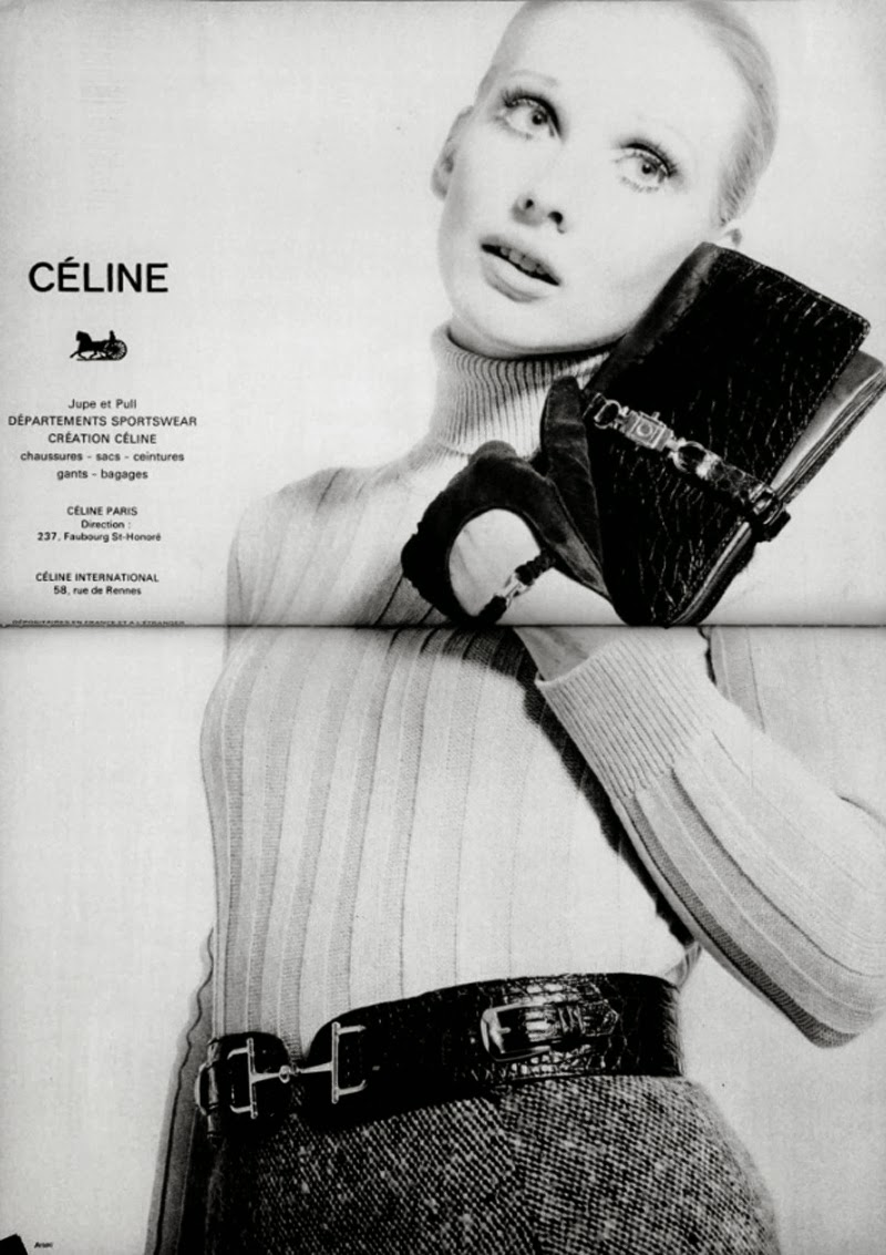 Celine 1969 advertising campaign