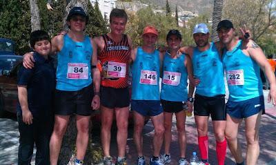 corredores de Molina, en Blanca