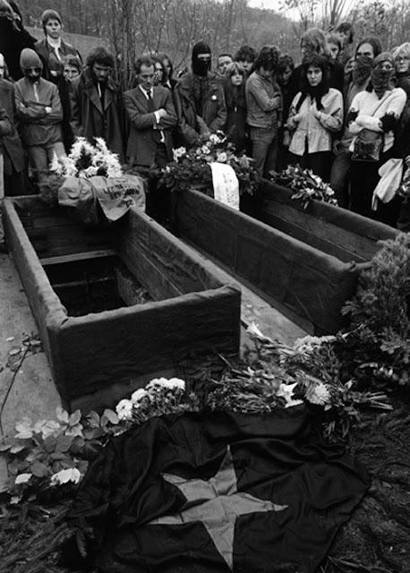 Ulrike Meinhof y la Fraccion del Ejercio Rojo Raf+funeral+2