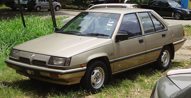 automotive database proton saga first generation