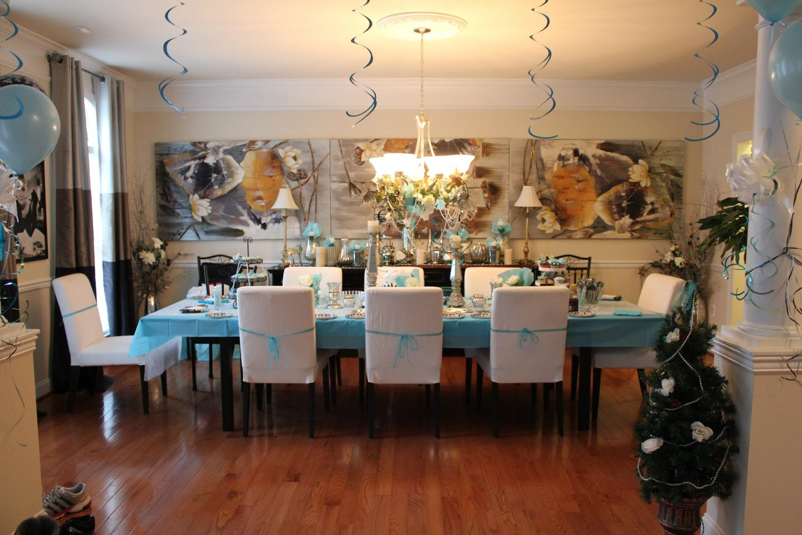 Breakfast At Tiffany S Theme Baby Shower Chanelly Belly