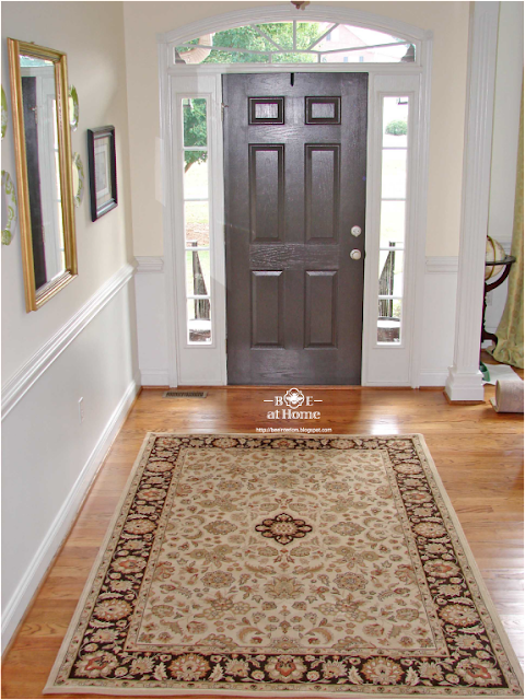 Foyer Entry Rugs : B e interiors october