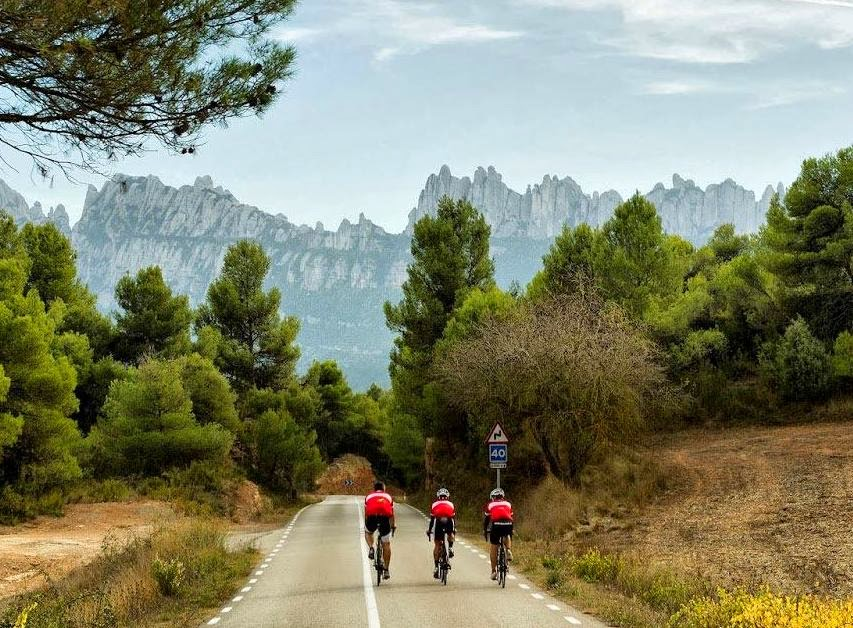 Cycling in Montserrat