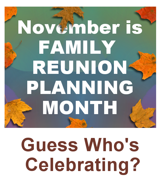 family reunion planning guide pdf