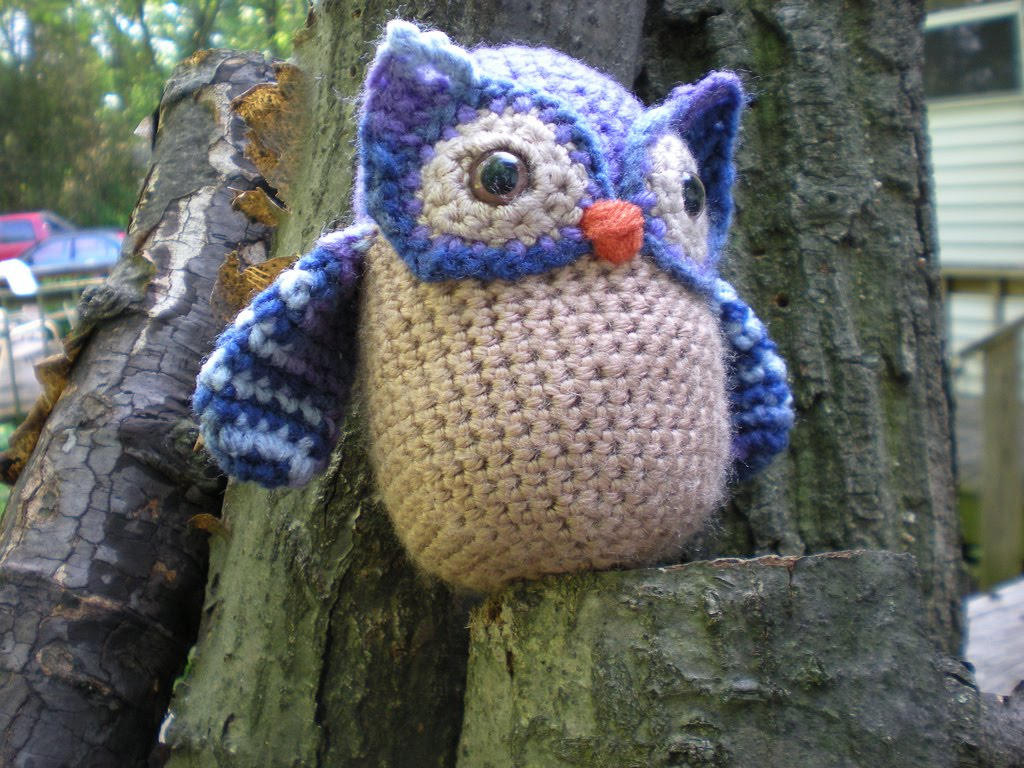 crochet owl-Knitting Gallery