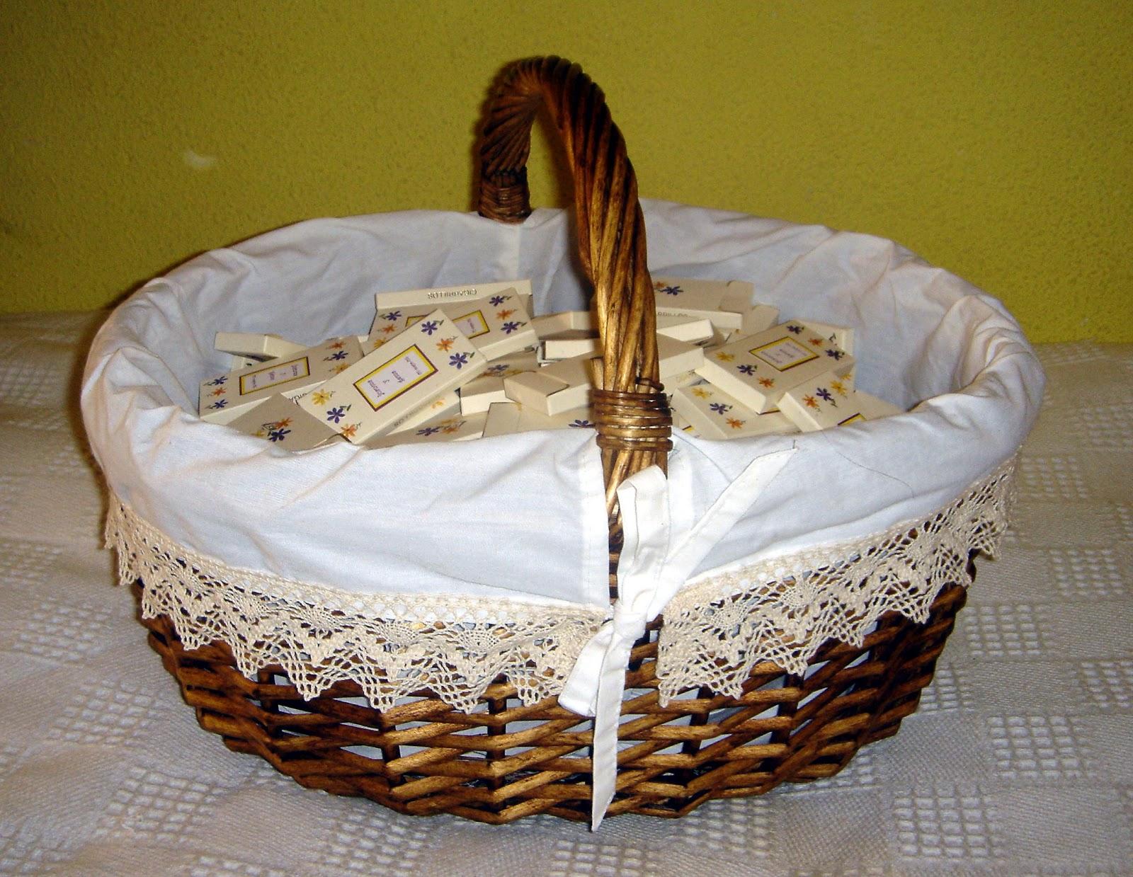 azuquitarrr cestas de mimbre decoradas