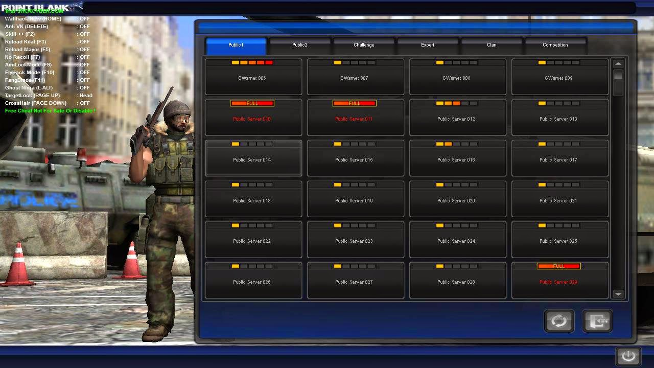Cheat Point Blank 10 Agustus 2014 (No Recoil, Reload Mayor,dll)