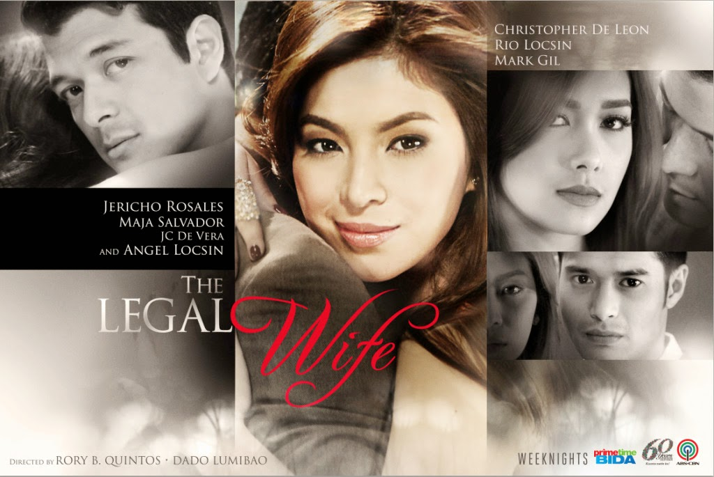 The Legal Wife poster: Angel Locsin, Jericho Rosales and Maja Salvador