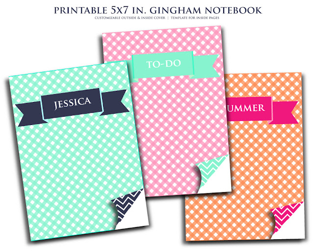 Cute Printable Mini Notebooks!