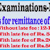 Revised due dates for remittance of SSC Examination-2015 Fee
