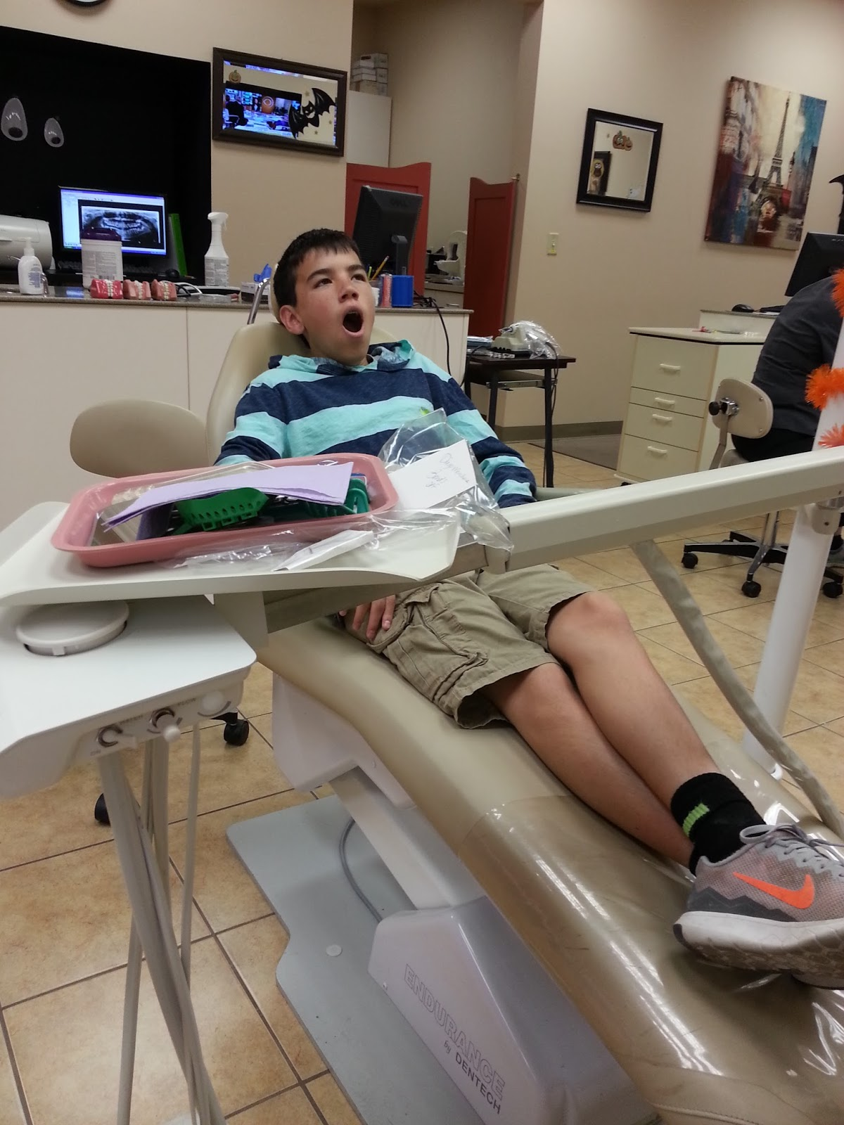 Four miles north of nowhere brace yourself kasey couldnt get away from work so i got to take diego to the orthodontist to have his braces removed this morning hes worn them for two yearshes solutioingenieria Image collections