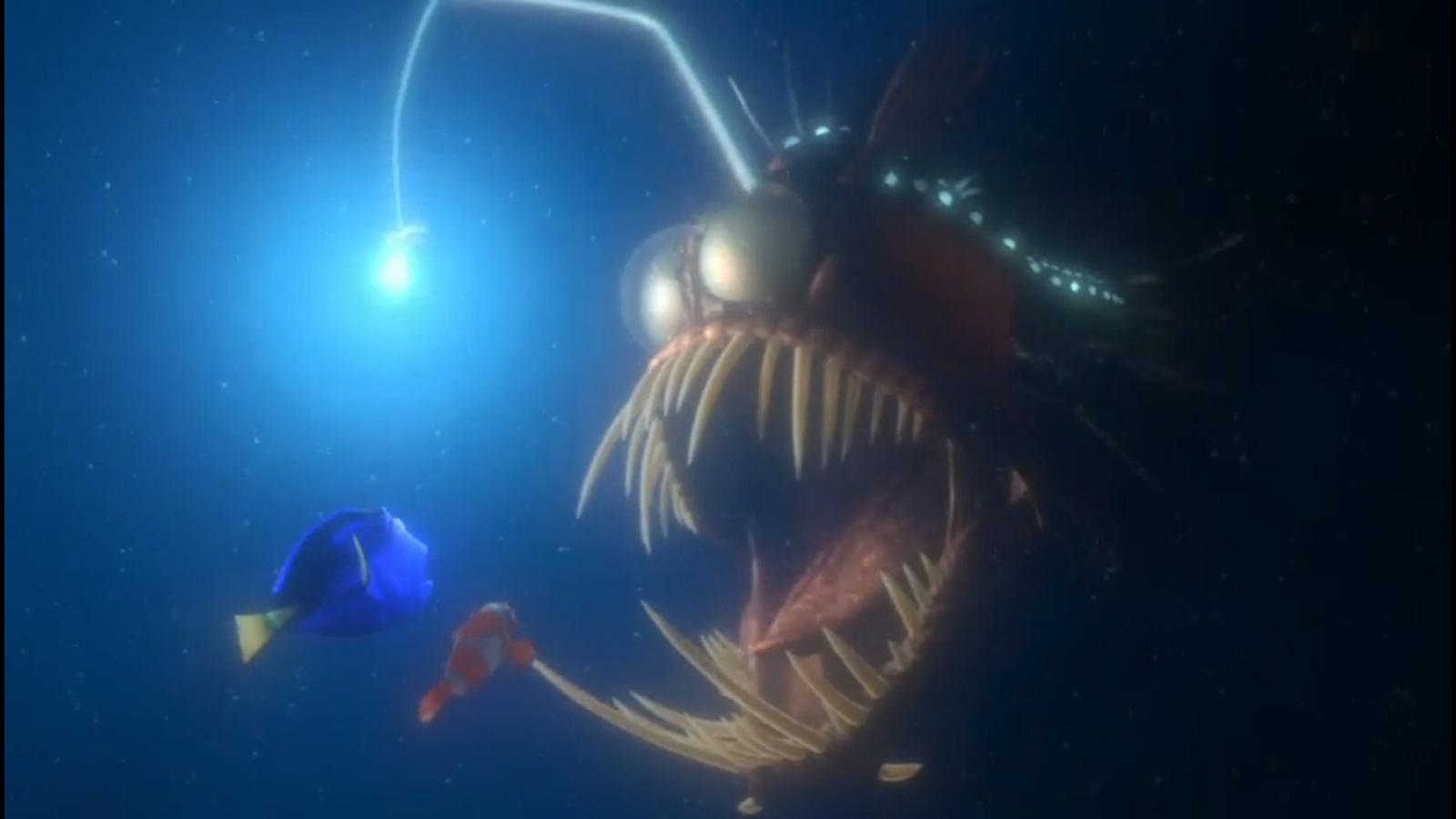 Lantern fish nemo the image kid has it for Finding nemo fish