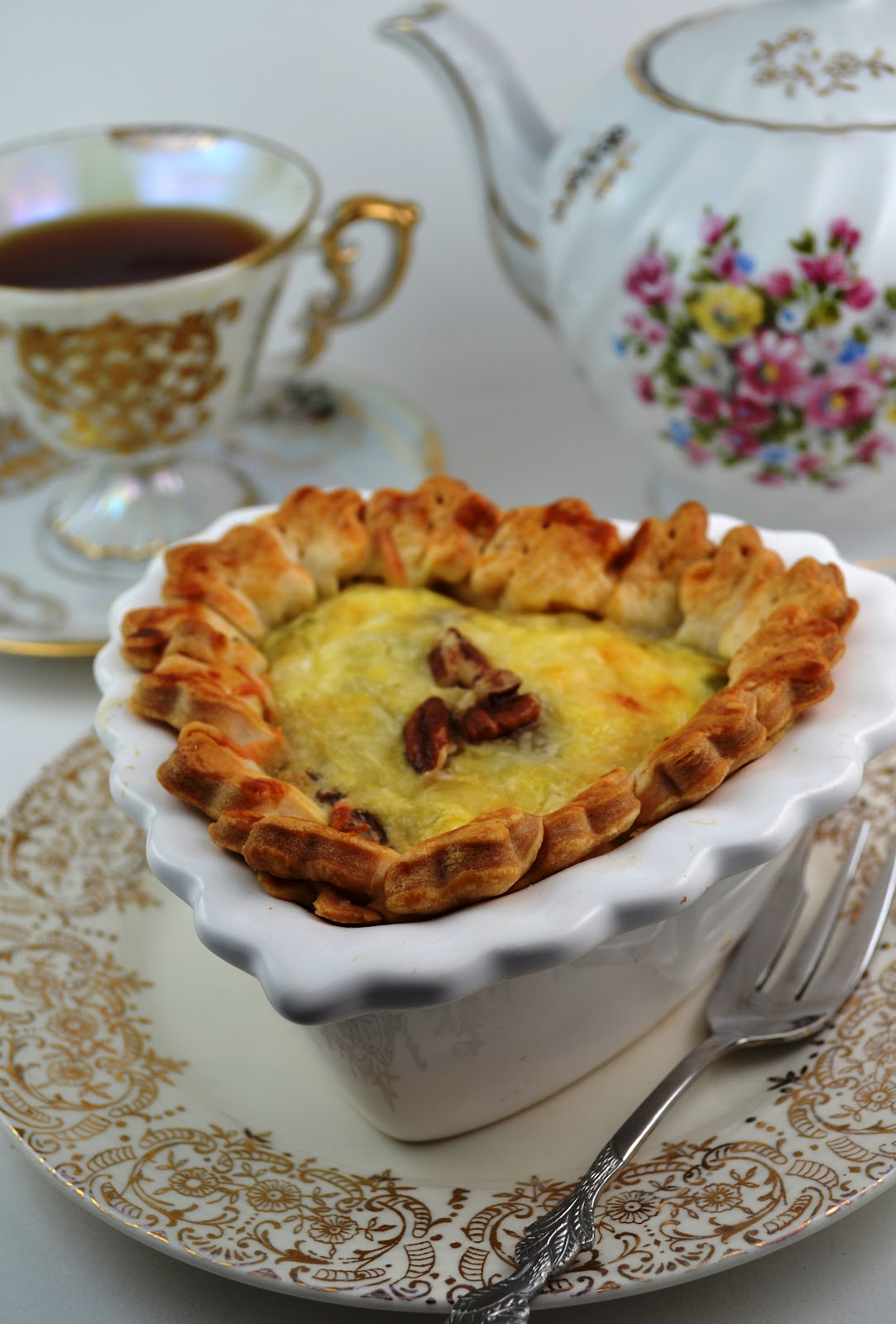 Sweetology tea party tuesday eb mine tea party and for The best quiche ever