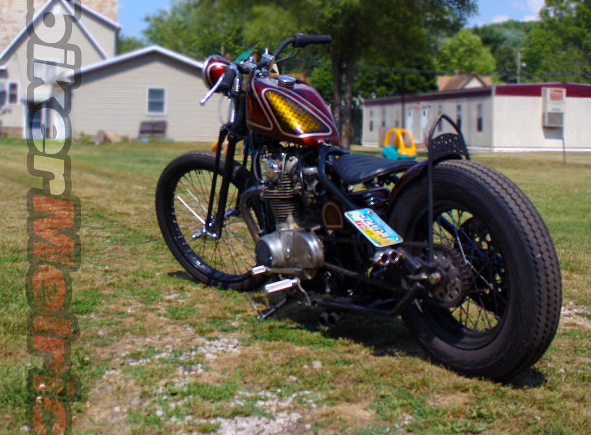 yamaha xs650 chopper - left rear | jason sallade