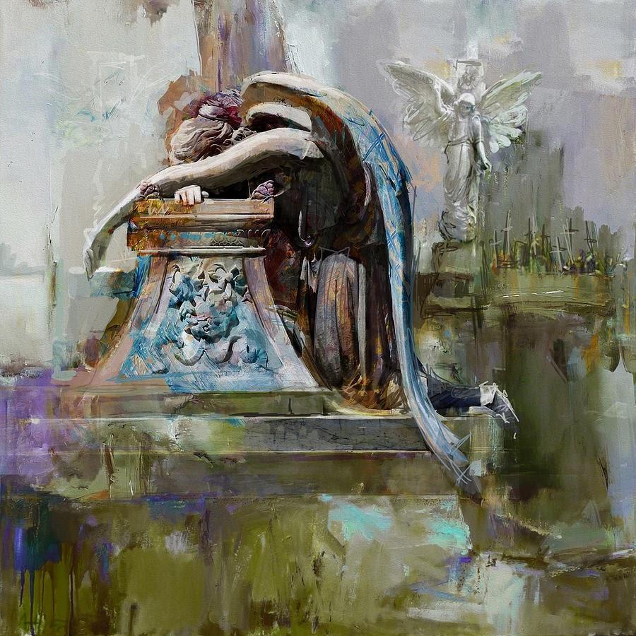 Maryam Mughal Angel of grief Glenwood Cemetery Washington Avenue