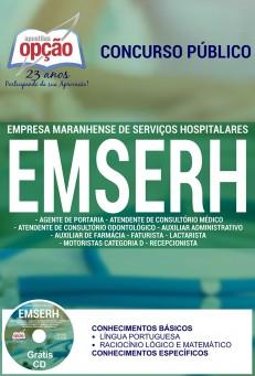 Apostila Concurso EMSERH - MA - Nível Médio - 2016