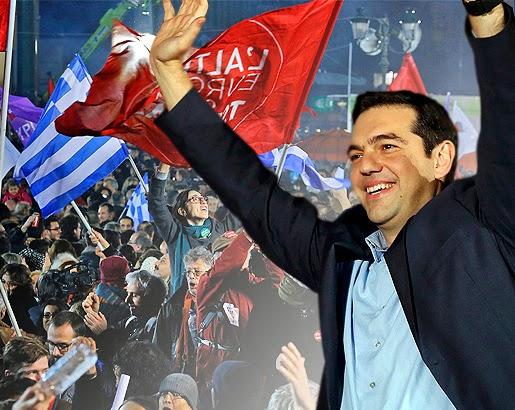 Μεγάλη εκλογική νίκη του ΣΥΡΙΖΑ