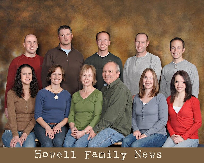 Howell Family News