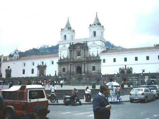 plaza san Francisco de Quito