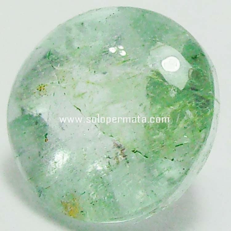Batu Permata Greenish Blue Beryl Aquamarine - 08B05