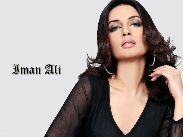 Beautiful Iman Ali HD Wallpaper