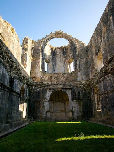 Inacabada Sala del Capítulo, Convento de Cristo en Tomar
