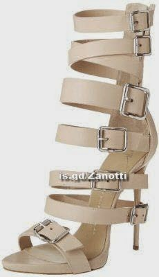 Giuseppe Zanotti Women's Multi Buckles Strappy Dress Sandal