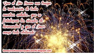 Frases De Año Nuevo: Que El Año Nuevo