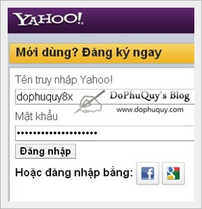 Change Status Mobile Yahoo