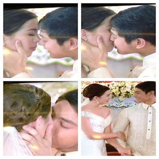 Daniel and Katerina Kiss in Walang Hanggan