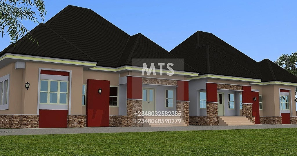 Residential homes and public designs 3 bedroom twin bungalow Twin bungalow plans