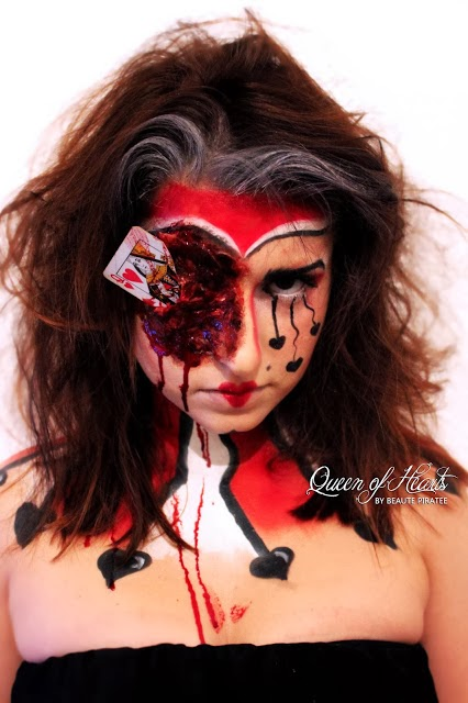 queen of hearts makeup, queen of hearts, halloween make up, blog make up