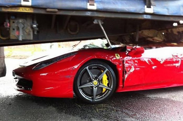 Ferrari Car Accidents Crash | Real Car Crashes