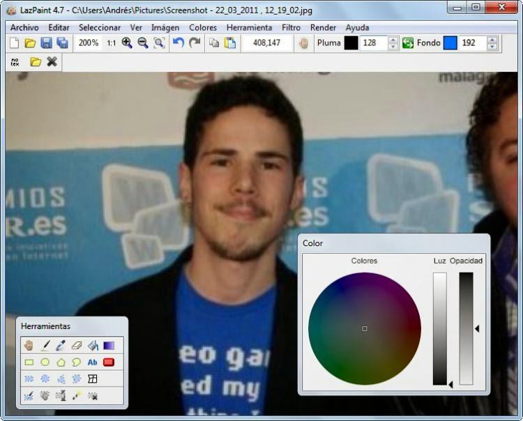 LazPaint برنامج مميز للتعديل علي الصور مجانا