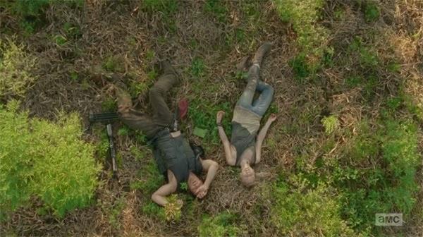 """Daryl y Beth en """"Inmates"""" el decimo episodio de la cuarta temporada de THe Walking Dead"""