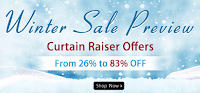 (Last Day) Homeshop18 : Upto 83% off on winter preview sale : BuyToEarn