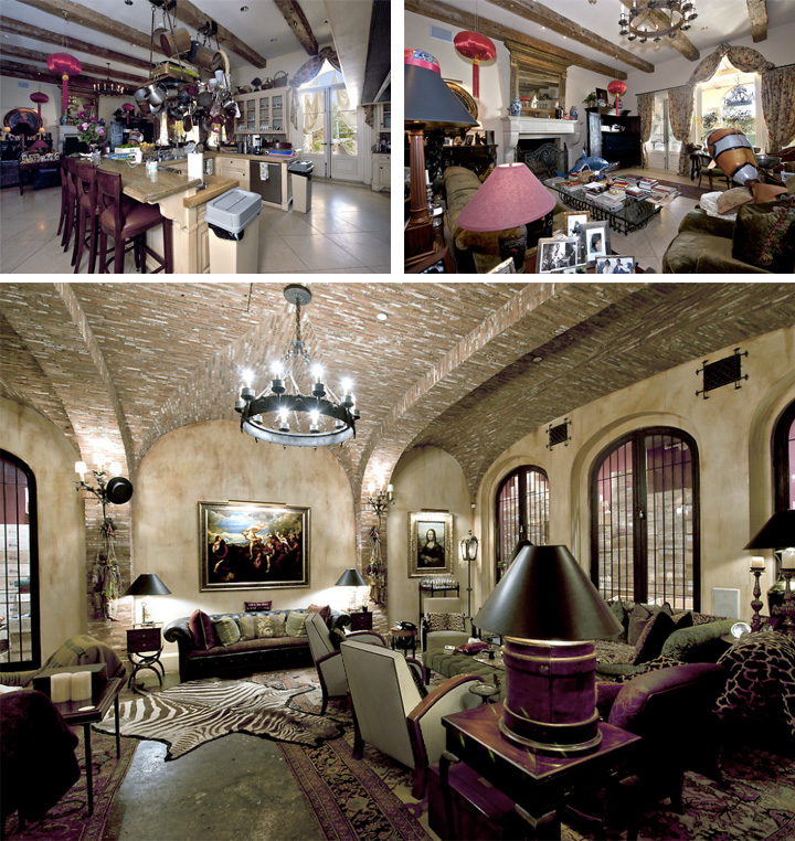 The real estalker vanna white s ex lists palatial beverly park pad