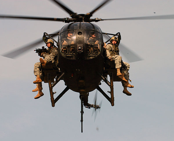 AH-6 Little Bird Light Attack Helicopter